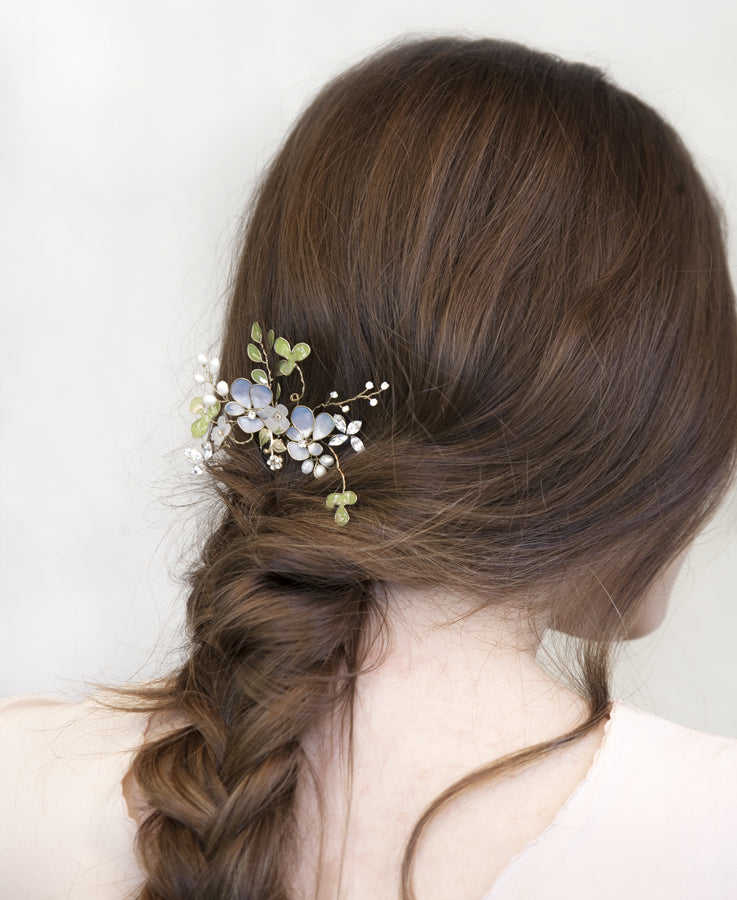 woodland wedding hair comb | Elibre handmade