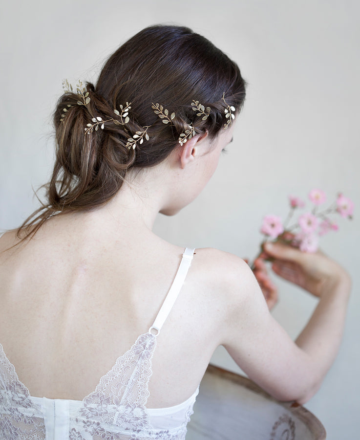 Bride hair piece | Elibre handmade