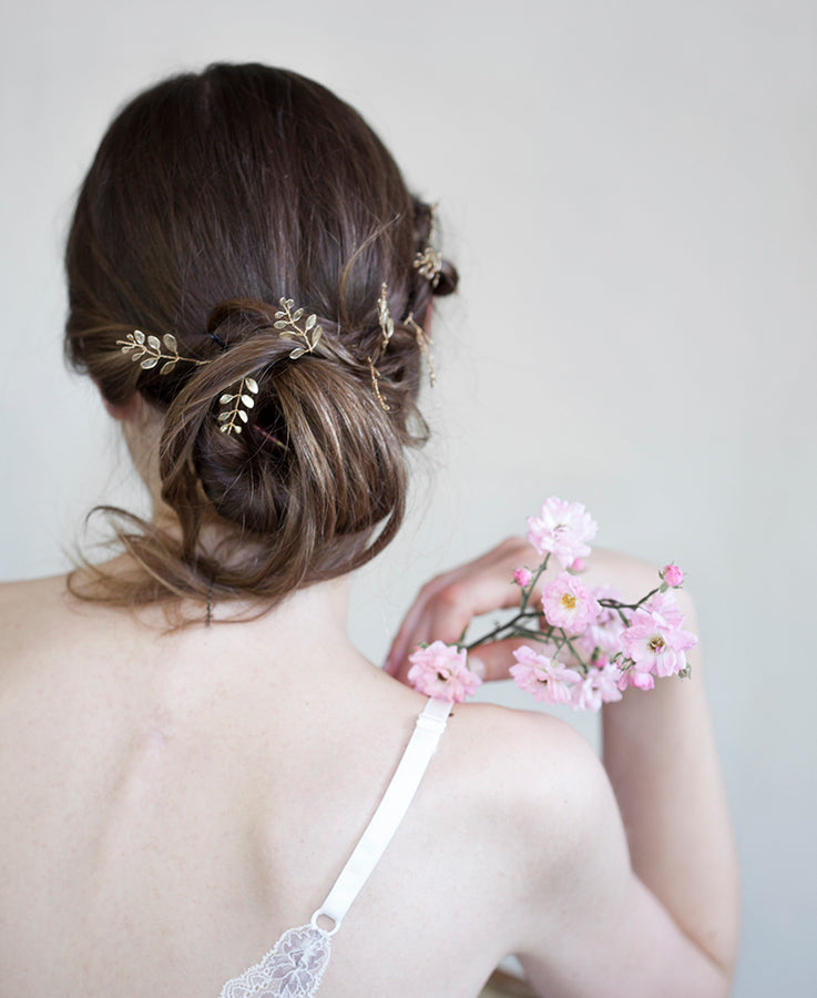 Wedding gold head band | Elibre handmade
