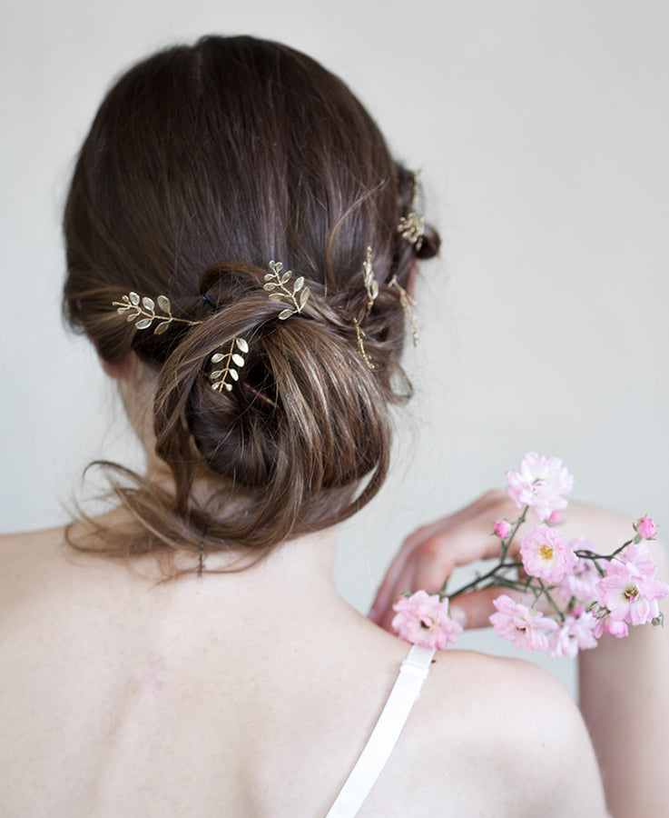 Wedding golden headband | Elibre handmade