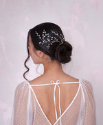 Bridal leaf headpiece | Elibre handmade