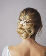 Bride updo hair accessory | Elibre handmade