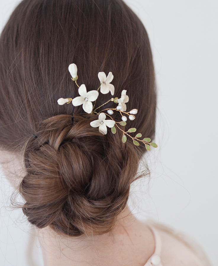 Wedding hair pin for bride | Elibre handmade
