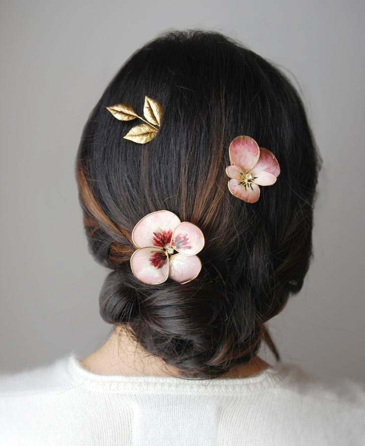 Flowering beauty hairpin | Mix & Match