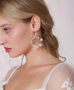Bridal silver and white jewelry | Elibre handmade