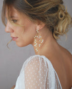 Bride accessories with crystals | Elibre handmade