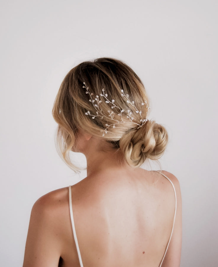 Wedding Crystal Hairpin for Bride