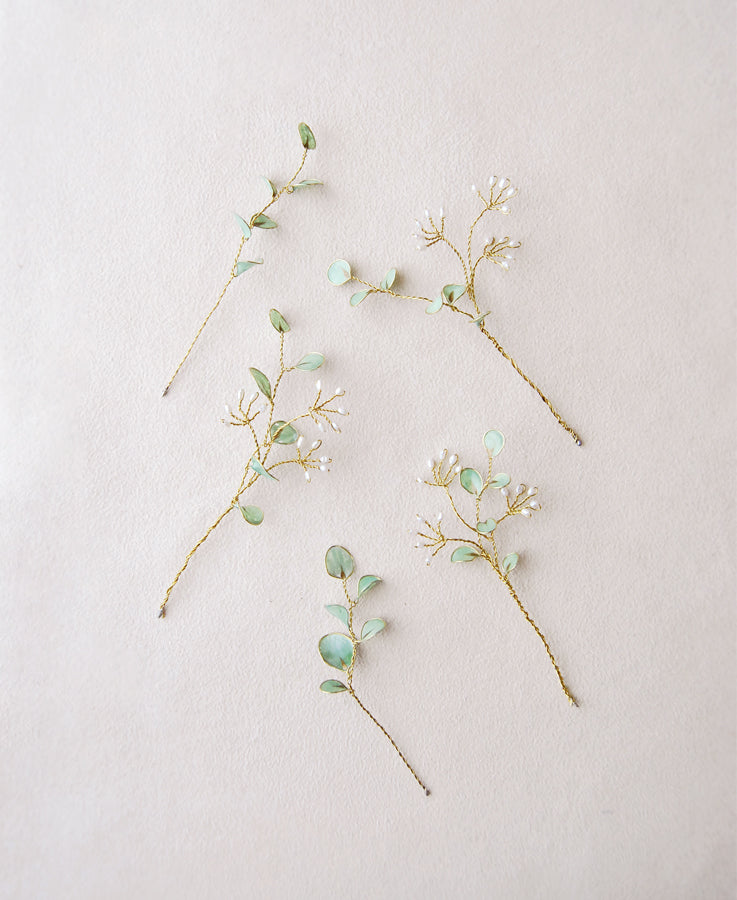 eucalyptus-hairpins-set