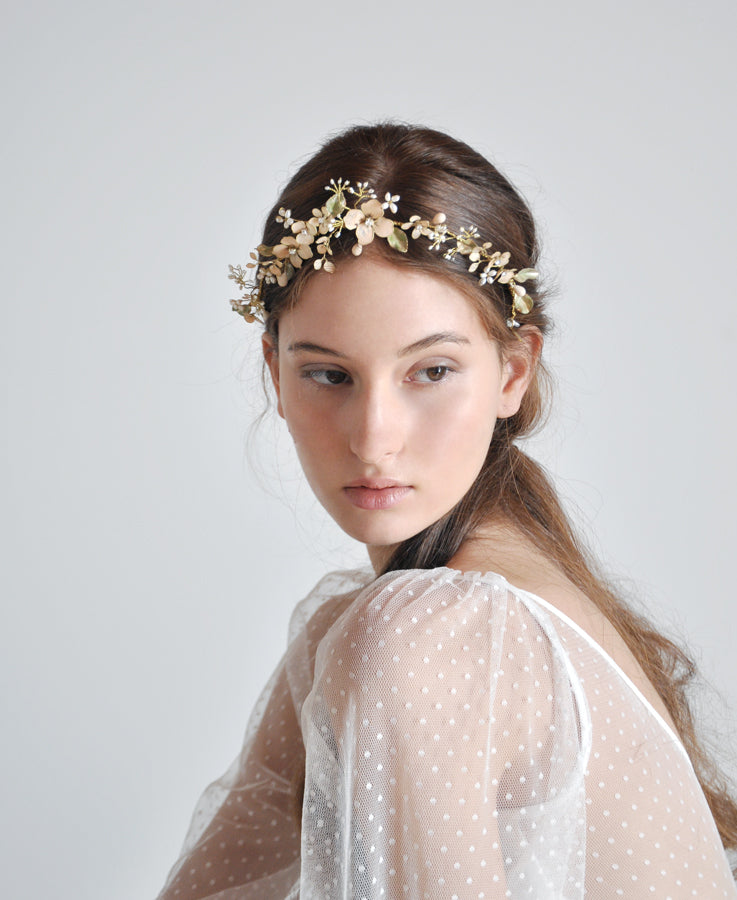 wedding flower headband