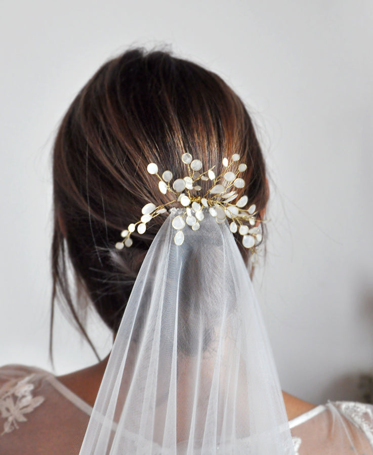 wedding head piece for bride