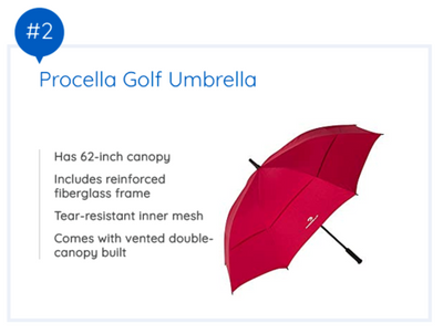 BEST WINDPROOF UMBRELLAS FOR PRACTICAL USE