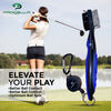 "52"" Golf Umbrella Auto Open Windproof Waterproof Foldable Oversized"