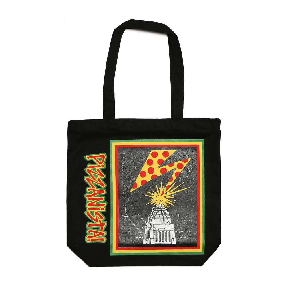 Banned in L.A. Vintage Tote - Black
