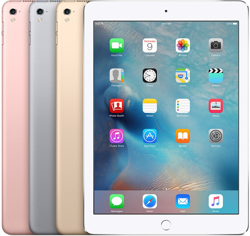Refurbished Apple iPad 5 (2017) Wi-Fi + Cellular (No Touch ID)