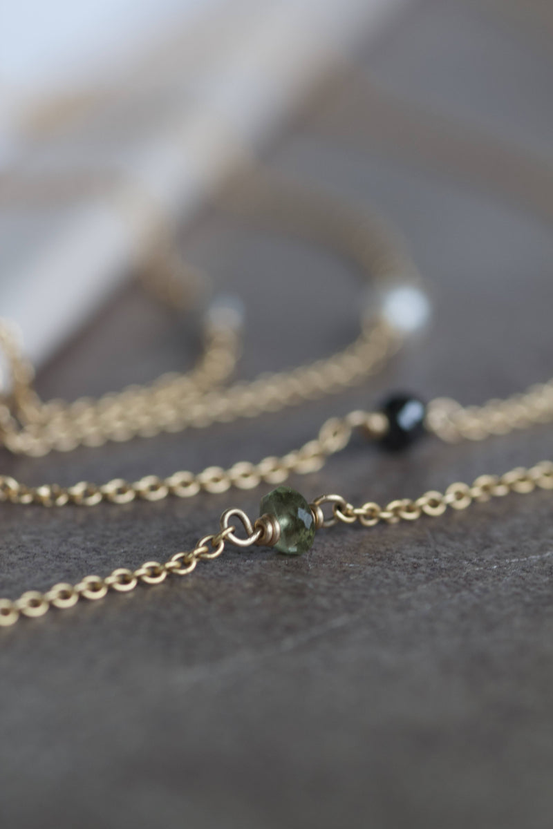 ALAIA GREEN TURMALIN NECKLACE