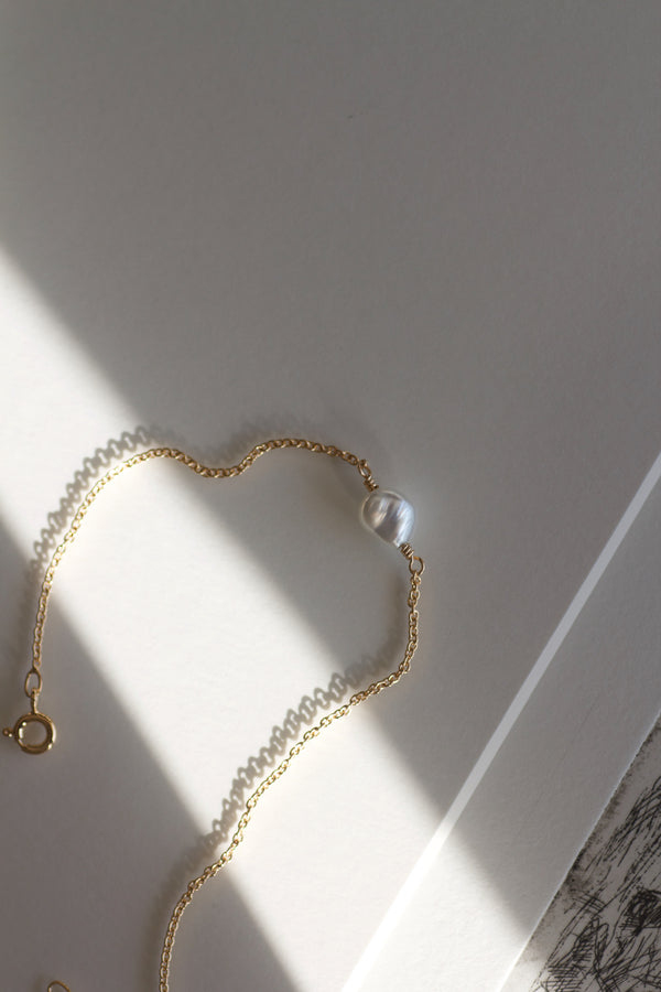 ALAIA SOUTH SEA PEARL BRACELET