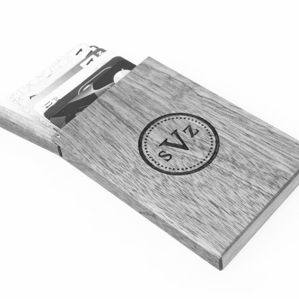 Wood Business Card Holders