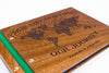 Custom Wood Travel Photo Album-Travel Scrapbook Album - waldengoods  - 4