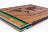 Custom Wood Travel Photo Album-Travel Scrapbook Album - waldengoods  - 6