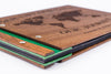 Custom Wood Travel Photo Album-Travel Scrapbook Album - waldengoods  - 7