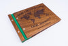 Custom Wood Travel Photo Album-Travel Scrapbook Album - waldengoods  - 10
