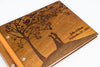 Custom Wood Wedding Photo Album - Guestbook - Scrapbook - waldengoods  - 8