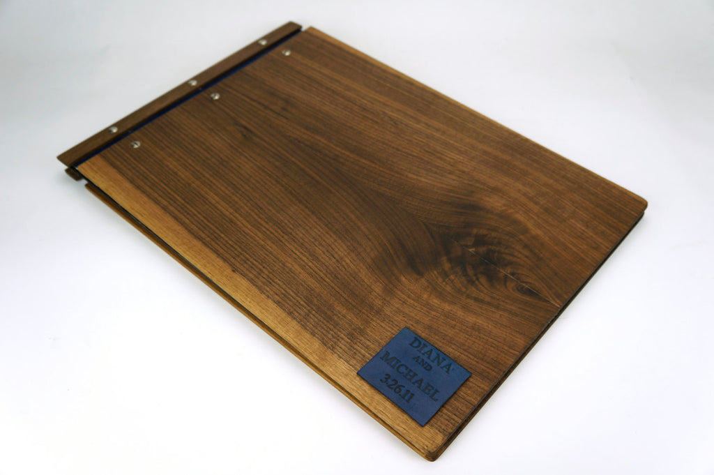 Wood A3 Folio - Drawing Book - Wood Portfolio - waldengoods  - 1