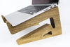 Walnut Wood Laptop Stand-Macbook Stand-Notebook Riser - waldengoods  - 4