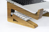 Walnut Wood Laptop Stand-Macbook Stand-Notebook Riser - waldengoods  - 7