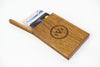 Personalized Wooden Wallet / Card Holder-Mahogany - waldengoods  - 1