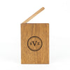 Personalized Wooden Wallet / Card Holder-Mahogany - waldengoods  - 5
