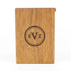 Personalized Wooden Wallet / Card Holder-Mahogany - waldengoods  - 6