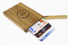 Personalized Wooden Wallet / Card Holder-Walnut - waldengoods  - 1