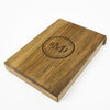 Personalized Wooden Wallet / Card Holder-Walnut - waldengoods  - 3
