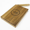 Personalized Wooden Wallet / Card Holder-Walnut - waldengoods  - 4