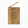 Personalized Wooden Wallet / Card Holder-Walnut - waldengoods  - 6