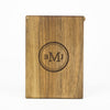 Personalized Wooden Wallet / Card Holder-Walnut - waldengoods  - 7