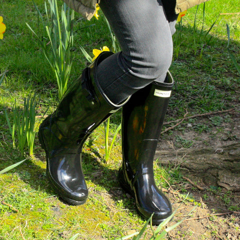 An alternative to the Huntress is the Original Tall Adjustable Boot. This  features a strap adjustment either on the back or front d14325f9bb