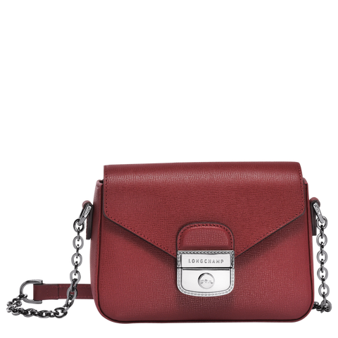 Longchamp - Le Pliage Heritage Crossbody Bag in Burgundy