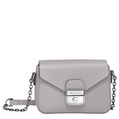 Longchamp - Le Pliage Heritage Crossbody Bag in Grey