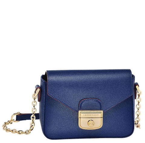 Longchamp - Le Pliage Heritage Crossbody Bag in Indigo