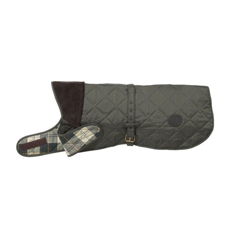 Barbour - Quilted Dog Coat in Olive - Dog Coat - Sinclairs Online - 1