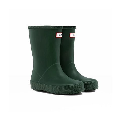 Hunter Kids First Classic Wellington Boot in Hunter Green