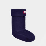 Hunter Original Kids Boot Socks in Navy