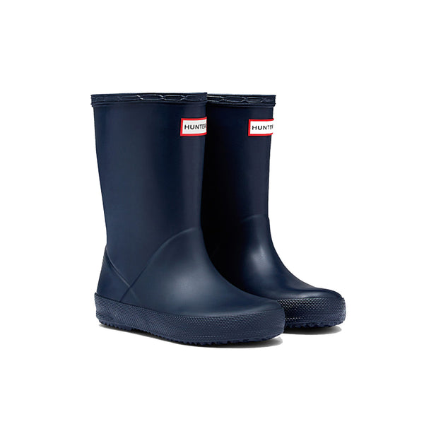 Hunter Kids First Classic Wellington Boot in Navy