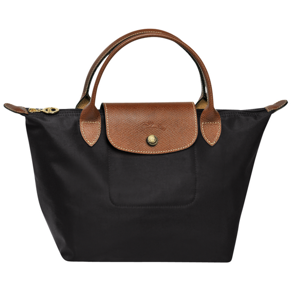 Longchamp - Le Pliage Top Handle Small Bag in Black