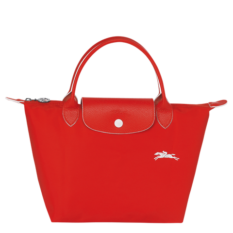 Longchamp - Le Pliage Club Top Handle Bag S in Vermilion