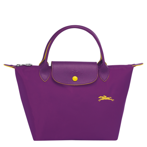 Longchamp - Le Pliage Club Top Handle Bag S in Violet