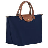 Longchamp - Le Pliage Top Handle M Bag in Navy