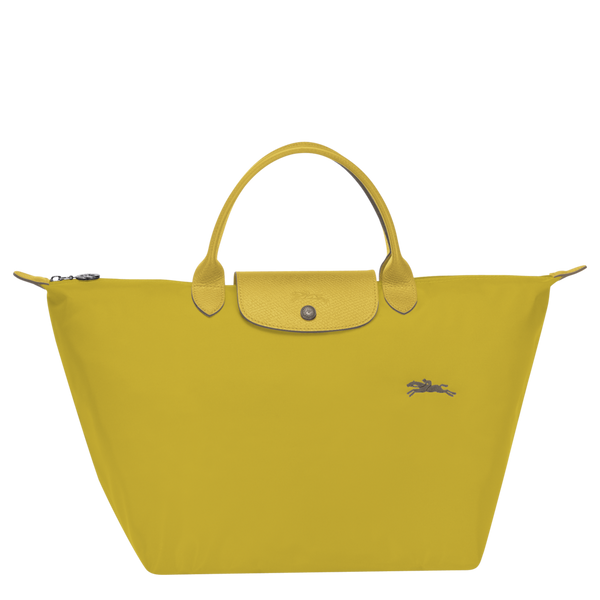 Longchamp - Le Pliage Club Top Handle M Bag in Acid